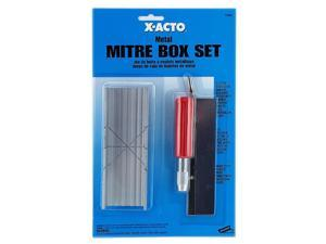 X-Acto No. 7532 Small Mitre Box Set small mitre box set