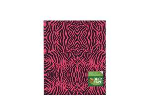 Duck Duct Tape Sheets 8 1/4 in. x 10 in. pink zebra each [Pack of 8]