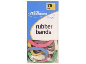 Swingline Work Essentials Colored Rubber Bands pack of 75