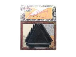Royal & Langnickel Faux Finishing Combs rubber triangular