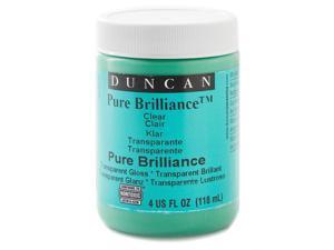 Duncan Toys Pure Brilliance Clear Glaze brush-on glaze 4 oz. jar