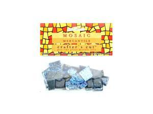 Mosaic Eye Publishing Crafter's Cut Gems - Sparkle Series ultramarine 3/16 in. 1/6 lb. bag