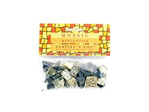 Mosaic Eye Publishing Crafter's Cut Gems - Sparkle Series platinum 3/16 in. 1/6 lb. bag