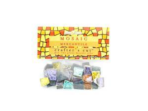 Mosaic Eye Publishing Crafter's Cut Gems - Sparkle Series assorted 3/16 in. 1/6 lb. bag