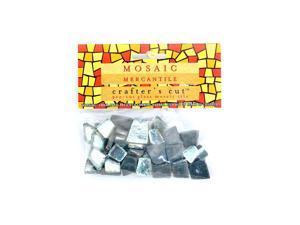 Mosaic Eye Publishing Crafter's Cut Gem Mosaic Tiles Shimmer iceburg 1/6 lb. bag