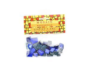 Mosaic Eye Publishing Crafter's Cut Gem Mosaic Tiles Shimmer sapphire 1/6 lb. bag