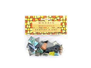 Mosaic Eye Publishing Crafter's Cut Gem Mosaic Tiles Shimmer assorted 1/6 lb. bag