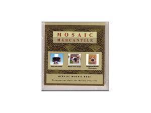 Mosaic Eye Publishing Acrylic Mosaic Bases 4 in. x 4 in.