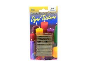 Yaley Dye Blocks 3/4 oz. rust  [Pack of 6]