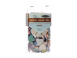 Midwest Products Tile and Mosaic Accessories heart tiles value pack