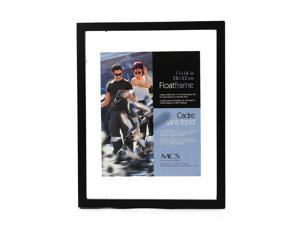 MCS Solid Wood Float Frame black 11 in. x 14 in.