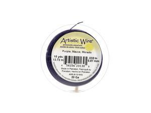 Artistic Wire Spools 15 yd. purple 20 gauge [Pack of 4]