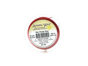 Artistic Wire Spools 15 yd. red 20 gauge [Pack of 4]
