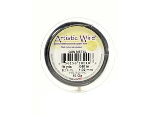 Artistic Wire Spools 10 yd. antique brass 18 gauge [Pack of 4]