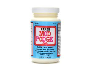 PLAID Mod Podge Medium Formulas paper matte 8 oz.  [Pack of 2]