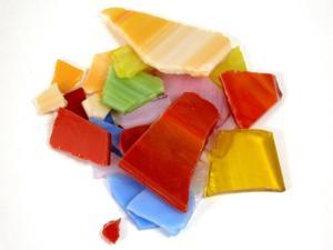 Midwest Products Tile and Mosaic Accessories bright stained glass pieces 20 oz.