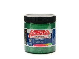 Speedball Art Products Opaque Fabric Screen Printing Inks emerald 8 oz.
