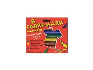 Dri-Mark Fabri-Mark Markers primary colors  [Pack of 3]