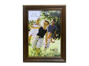 MCS Solid Wood Frame walnut 5 in. x 7 in.