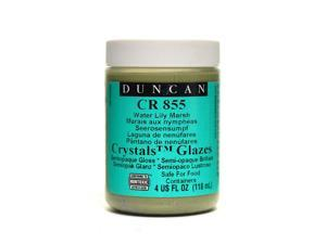 Duncan Toys Crackle & Crystal Glazes water lily marsh CR855 4 oz. [Pack of 3]