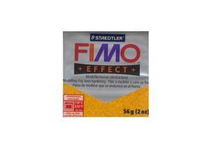 Fimo Soft Polymer Clay glitter gold 2 oz.