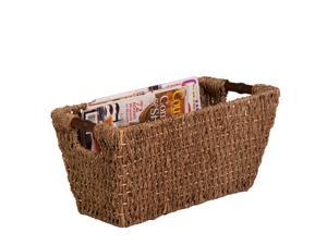 Honey Can Do Seagrass Basket w/ Handles - Med - STO-02965