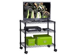 3-shelf steel cart