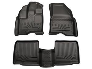 Husky Liners Weatherbeater Series Front & 2Nd Seat Floor Liners 98731 2009-2015  Lincoln MKS