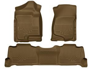 Husky Liners Weatherbeater Series Front & 2Nd Seat Floor Liners 98253 2007-2014  Cadillac Escalade