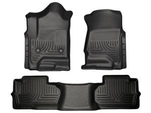 Husky Liners Weatherbeater Series Front & 2Nd Seat Floor Liners 98241 2014-2015  Chevrolet Silverado 1500