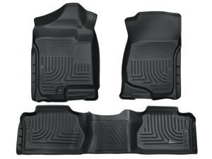 Husky Liners Weatherbeater Series Front & 2Nd Seat Floor Liners 98262 2007-2014  Cadillac Escalade ESV
