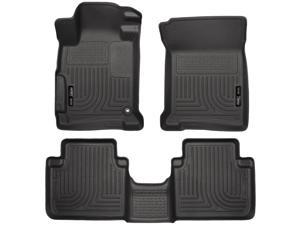 Husky Liners Weatherbeater Series Front & 2Nd Seat Floor Liners 98481 2013-2015  Honda Accord