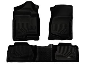 Husky Liners Weatherbeater Series Front & 2Nd Seat Floor Liners 98261 2007-2014  Cadillac Escalade ESV