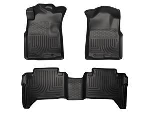 Husky Liners Weatherbeater Series Front & 2Nd Seat Floor Liners 98951 2005-2015  Toyota Tacoma