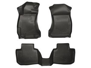 Husky Liners Weatherbeater Series Front & 2Nd Seat Floor Liners 99881 2014-2015  Subaru Forester