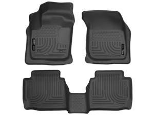 Husky Liners Weatherbeater Series Front & 2Nd Seat Floor Liners 99751 2013 Ford  Ford Fusion