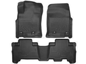 Husky Liners Weatherbeater Series Front & 2Nd Seat Floor Liners 99571 2014 Lexus Lexus GX460
