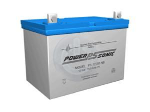 Power-Sonic PS-12750 12V/75AH Sealed Lead Acid Battery with U Terminal