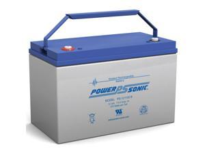 Power-Sonic PS-121100 12V/110AH Sealed Lead Acid Battery with Type B Terminal
