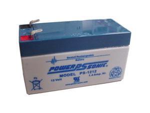 Power-Sonic 12V/1.4AH Sealed Lead Acid Battery w/ F1 Terminal