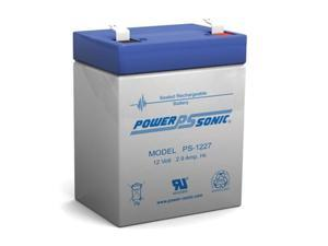 Power-Sonic PS-1227 F1 Sealed Lead Acid Battery