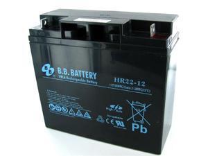 BB Battery HR22-12 SLA Battery
