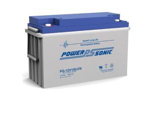 Power-Sonic PG-12V150FR 12V/150AH Sealed Lead Acid Battery
