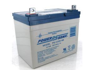Power-Sonic PS-12350 12V/35AH Sealed Lead Acid Battery-NB Terminal