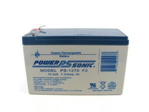 Power-Sonic PS-1270 F2 Sealed Lead Acid Battery