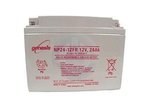 Genesis NP24-12 Sealed Lead Acid Battery - F2 Terminal
