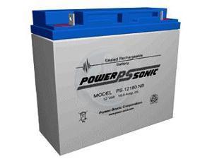 Power-Sonic 2 x 12V/18AH Sealed Lead Acid Battery w/ NB Terminal