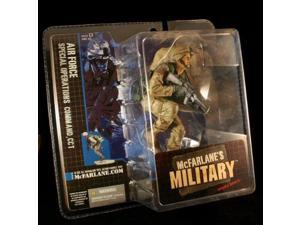 AIR FORCE SPECIAL OPERATIONS COMMAND, CCT * CAUCASIAN VARIATION * McFarlane's Military Series 1 Action Figure & Display