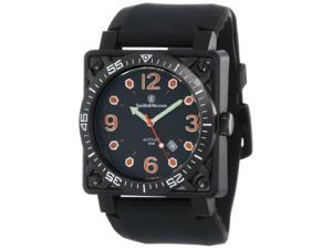 Smith & Wesson Men's SWW-5800-BLK Altitude Black Dial Rubber Band Watch