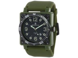 Smith & Wesson Men's SWW-5800-OD Altitude OD Black Dial Rubber Band Watch
